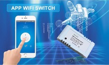 Sizzling 2016 1 Approach DC 12V Sensible Wifi Swap Controller Relay Module For Dwelling Automation Storage Mild Followers Managed By Smartphone