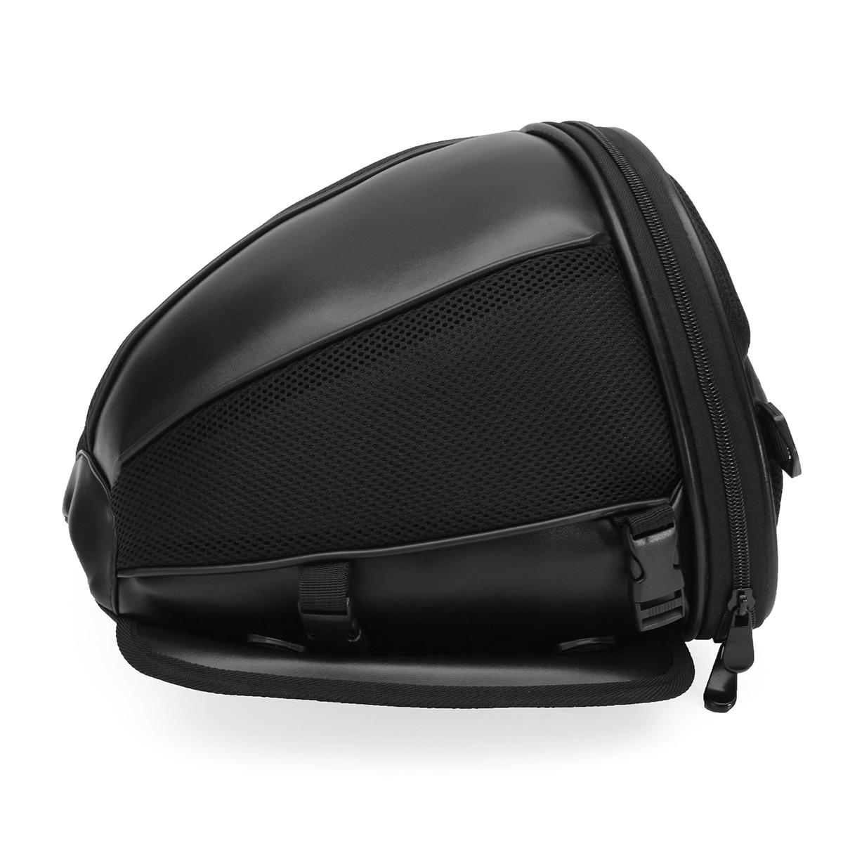 Universale Moto Bagaglio Impermeabile Casella di Coda Serbatoio Sacchetto Della Sella Della Bici Sport Gear Caso Convenienza di trasporto Rimovibile