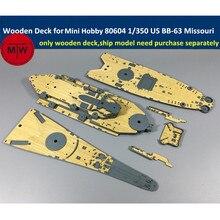1/350 весы деревянная колода для мини хобби 80604 США линкор BB-63 Миссури модель