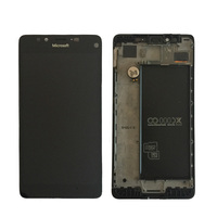 Original AMOLED For Microsoft Nokia Lumia 950 LCD Display with Touch Screen Digitizer Assembly With frame