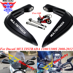 Motorcycle Black Handguard Hand Guard Hand Protection For Ducati MULTISTRADA 1100/1100S 2008-2012 2009 2010 2011