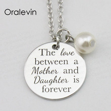 Buy The Love Between A Mother And Daughter Is Forever Necklace And