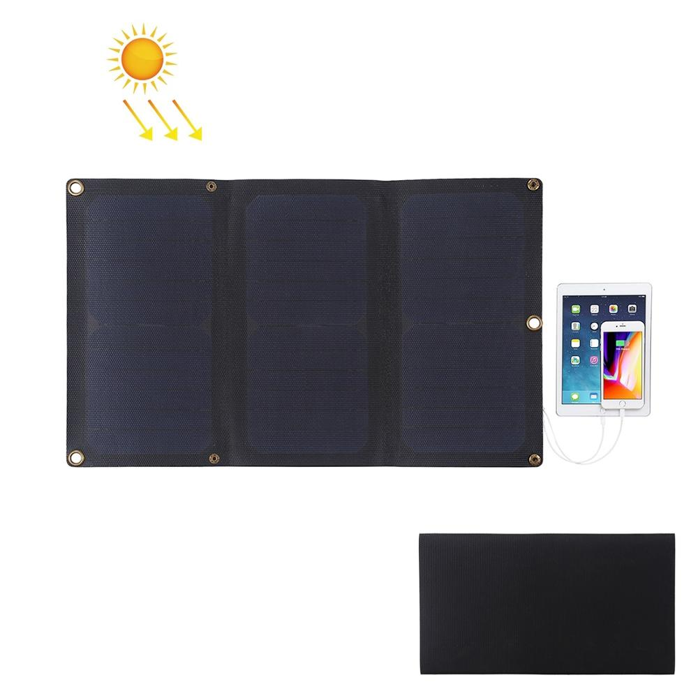 HAWEEL Flexible 14W 21W 28W ETFE Solar Panel Charger with 5V 2A 3A Max Dual USB