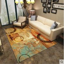 3D Underwater World Carpets For Living Room Printing Home Bedroom Rugs And Carpets Modern Coffee Table Floor Mat Study Room Mat free shipping hd underwater world 3d floor painting thickened bedroom bathroom living room study lobby square flooring mural