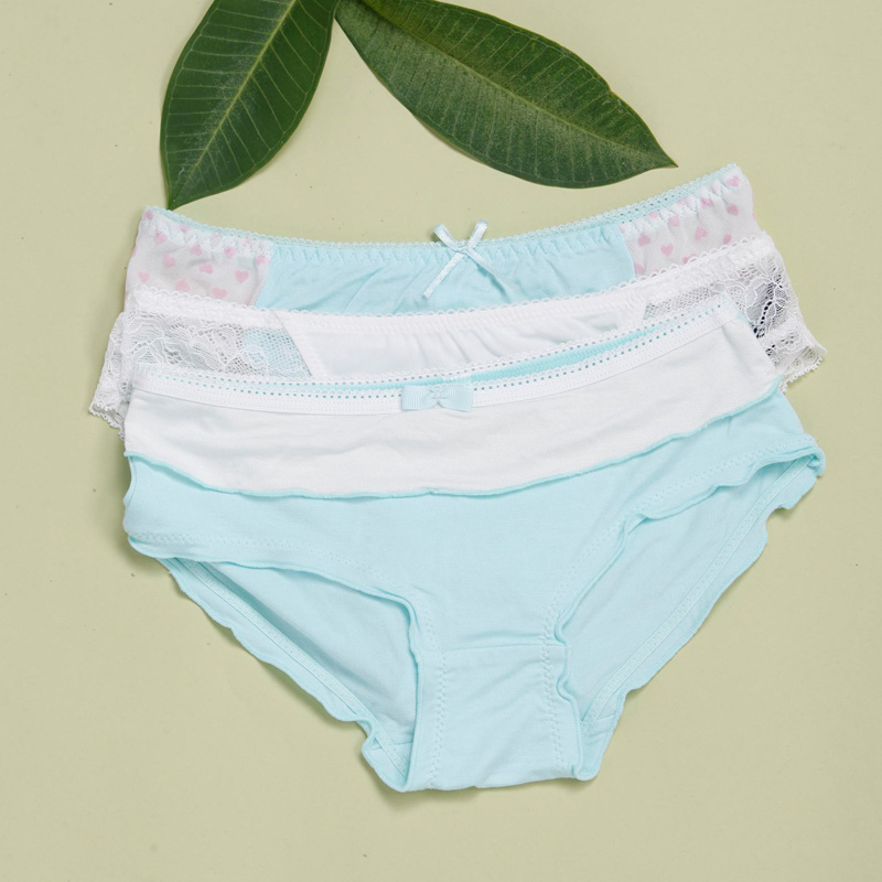 2016 New year\'s Pure cotton lace sexy panties stri...