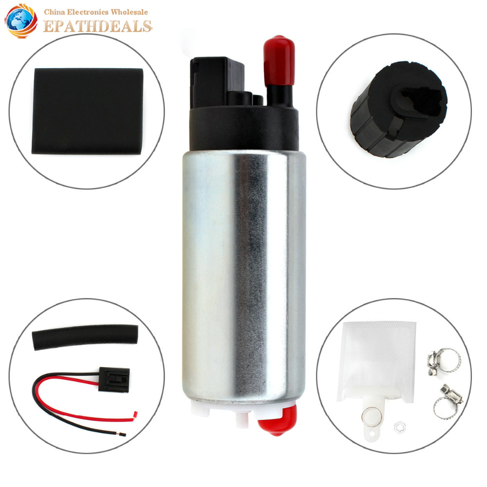 GSS342 255Lph High Flow Universal In-tank Gasoline Auto Car Fuel Pump for Nissan Toyota Honda Buick Racing and Tuning Cars osias ship from us cn brand new 340lph high performance fuel pump replace walbro 255lph gss342