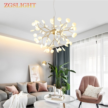 Firefly LED Modern Chandelier light stylish tree branch chandelier lamp decorative firefly ceiling chandeliers hanging Lighting
