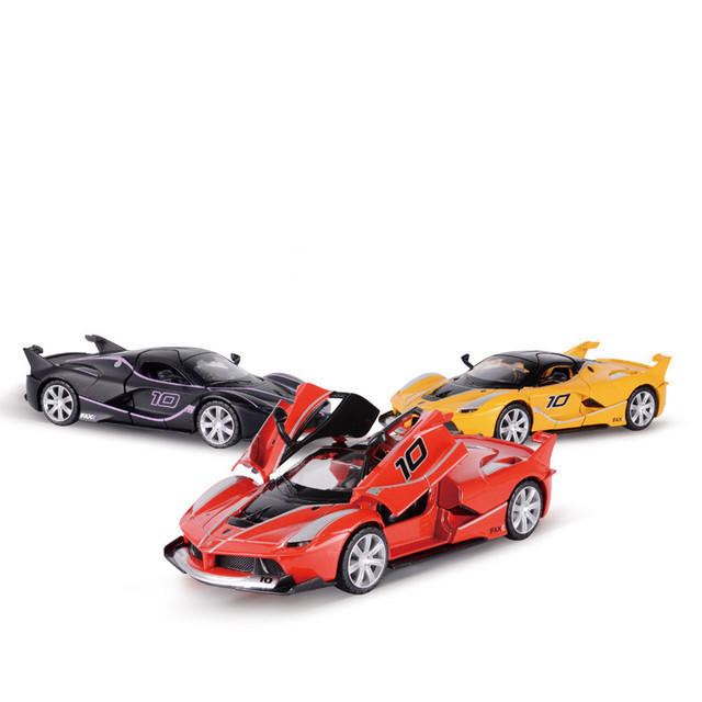 Ferrari Fxx Acousto Optic Alloy Car Model Toys Children Toy Car