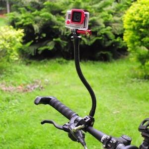 Image 4 - Fantaseal ação câmera braçadeira flexível pescoço suporte de montagem para gopro hero 8 7 6 5 4 garmin virb sjcam para xiaomi yi maxila montagem