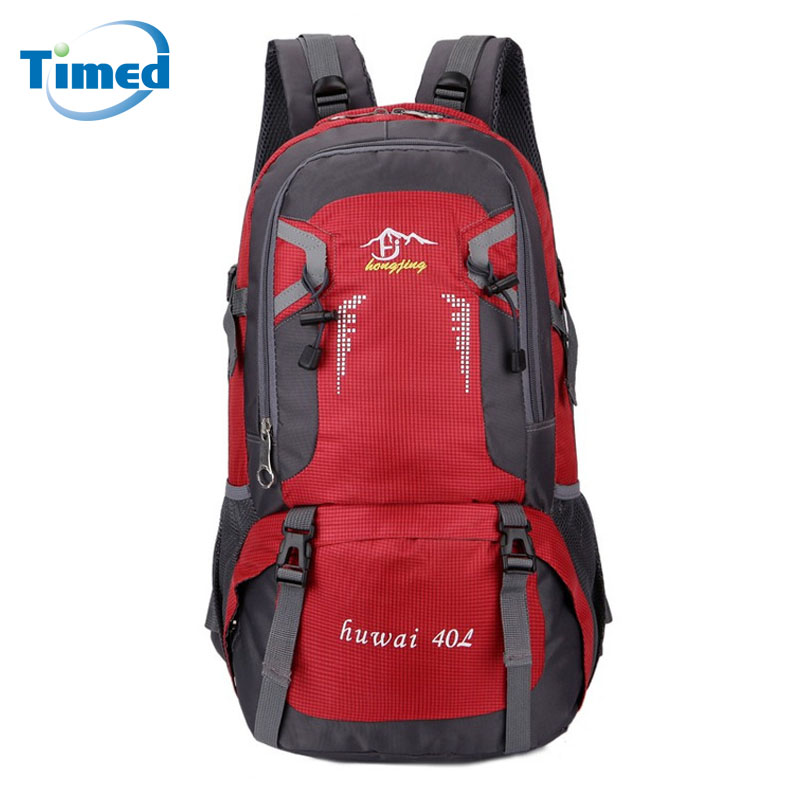 New Men Women Big Backpacks Casual Simple Travel Backpack Large Capacity Quality Nylon Waterproof School Bag 40L/60L Two Size