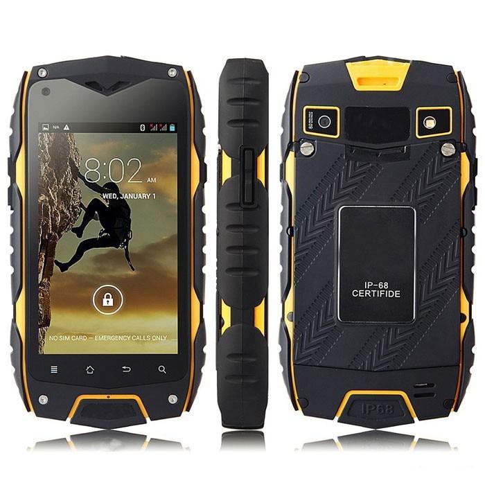 """Original Jeep Z6 IP68 Waterproof Smart Phone 4.0"""" IPS Dustproof Shockproof MTK6572 Dual Core DualSIM"""