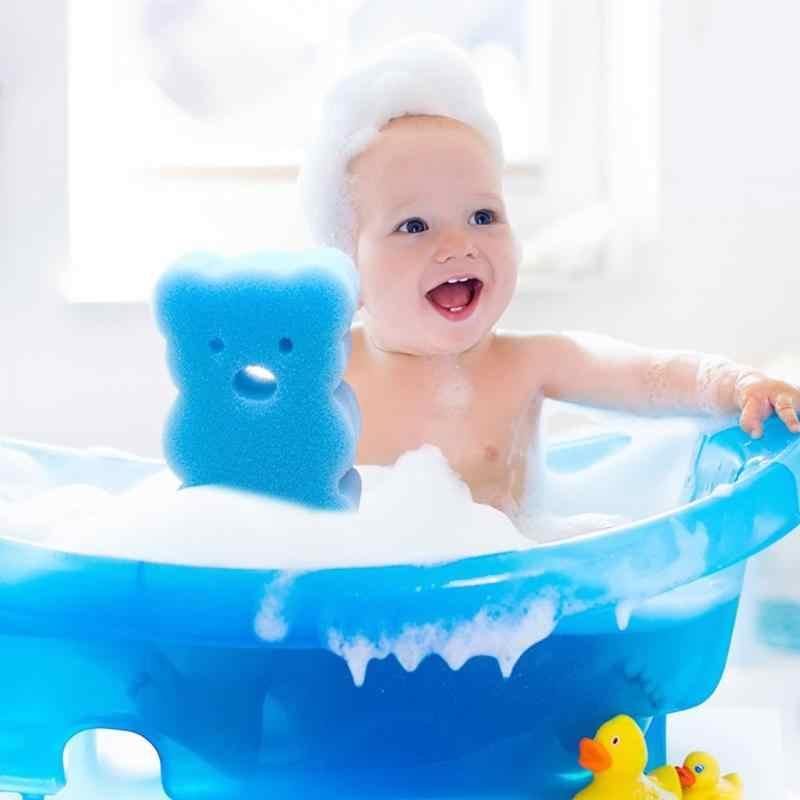 תינוק רך רחצה צינור ספוג אמבט מברשות ילדים Cartoon צורת מקלחת מוצרי אמבטיה ילדים שפשוף מברשת תינוק אמבטיה כלי