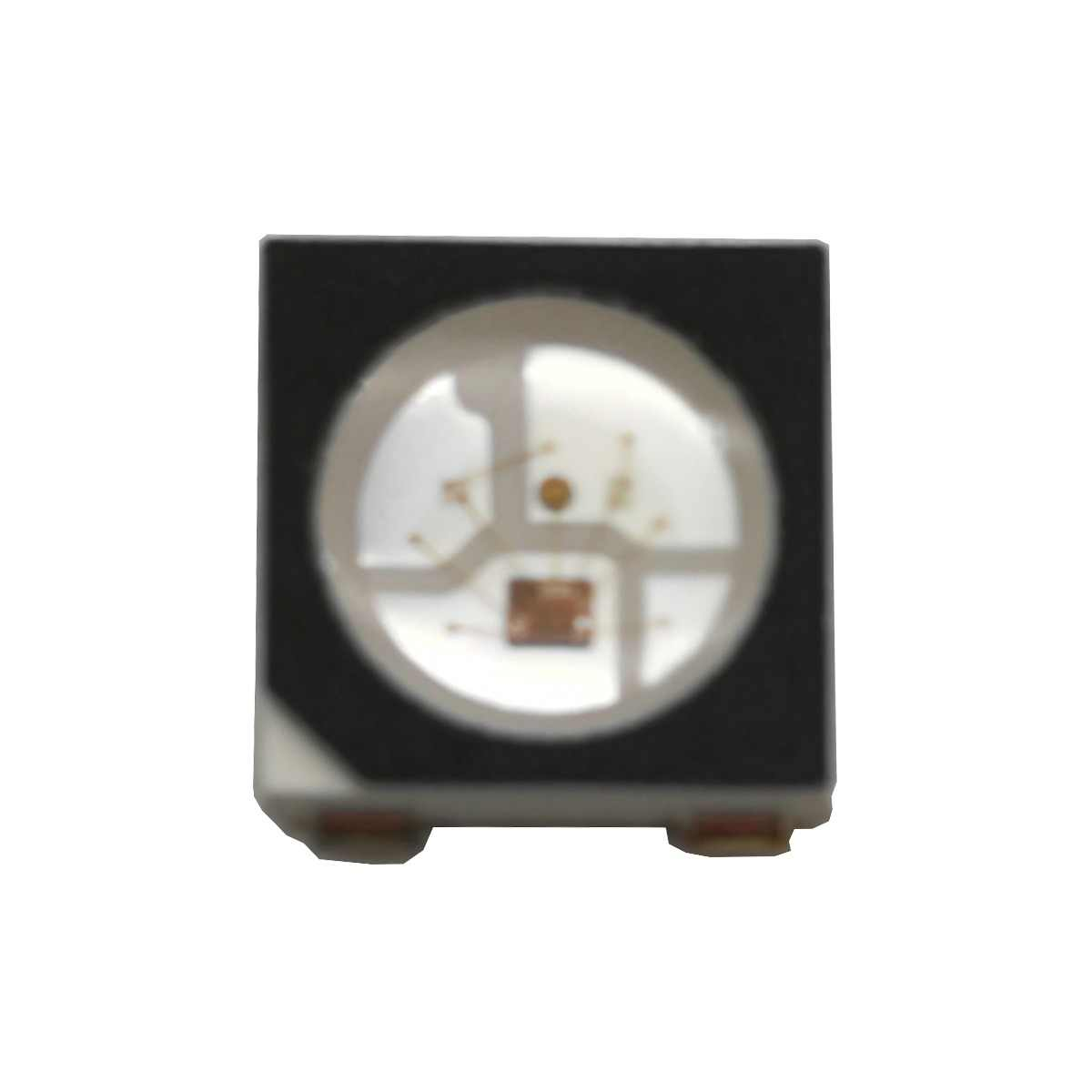 WS2812B LED Chip Built-in WS2811 ic 2812 10~1000pcs 5050 RGB SMD Black White Version WS2812 Individually Addressable Emitter 5V
