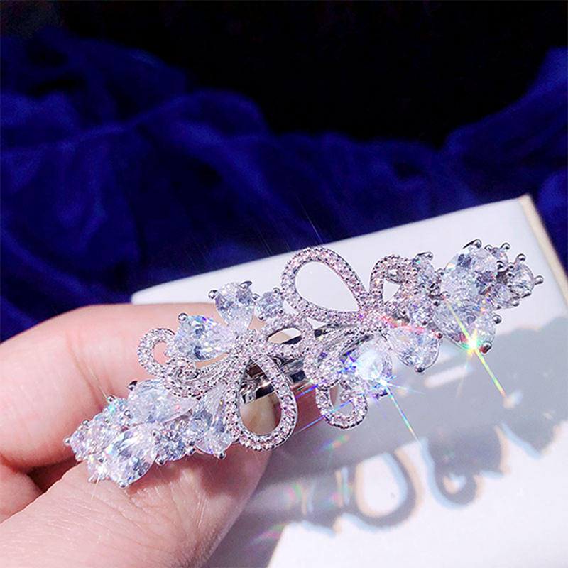 Hair Jewelry Back To Search Resultsjewelry & Accessories Beautiful Asnora Alta Calidad Redondo Sombreros De La Mariposa Hueco Horquilla Circonio Damas Accesorios Para El Cabello