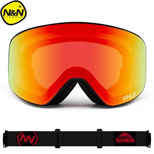 5da402c4f50 Προϊόν - New NANDN brand ski goggles Ski Goggles Double Lens UV400 ...