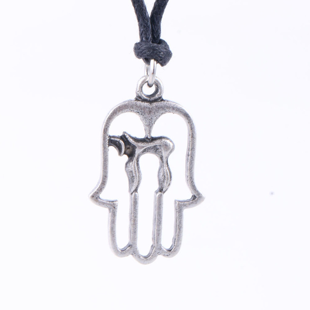jumbo chai hebrew tiny necklace product