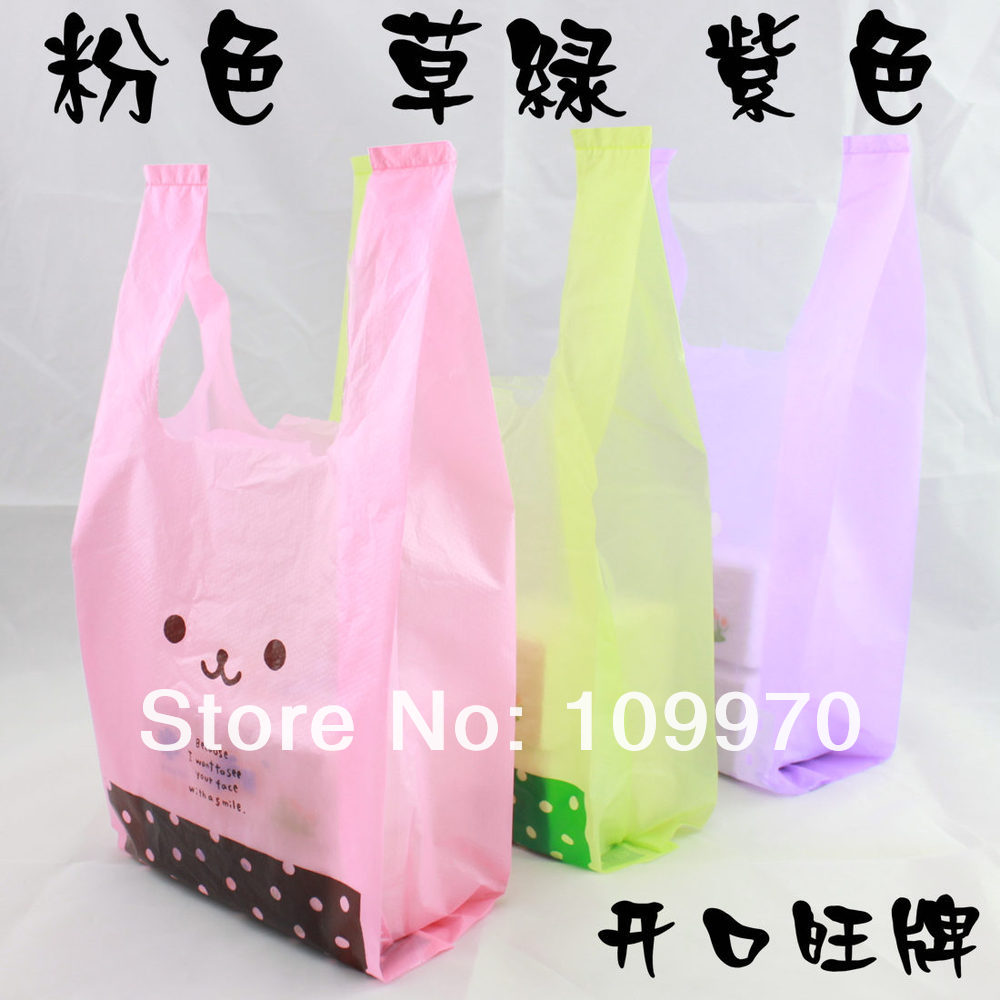 Plastic Marketing Bags Promotion-Shop for Promotional Plastic ...