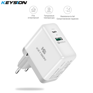 Image 2 - KEYSION 36W USB C PD Fast Charger for iPhone 11 Pro XR XS Max Quick Charge 3.0 Wall USB Charger Adapter for Samsung Xiaomi redmi