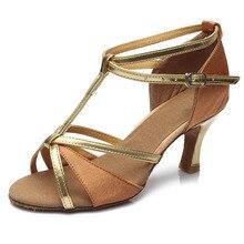 women Latin dance shoes new brand girls women's Ladie's latin ballroom tango salsa dance shoes about 5cm and 7cm heel wholesale