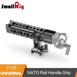 SmallRig NATO Rail Handle Grip With Mounting Points Shoe Mounts for Cameras/ Camcorder/ Action Camera/Camera Cages-1955