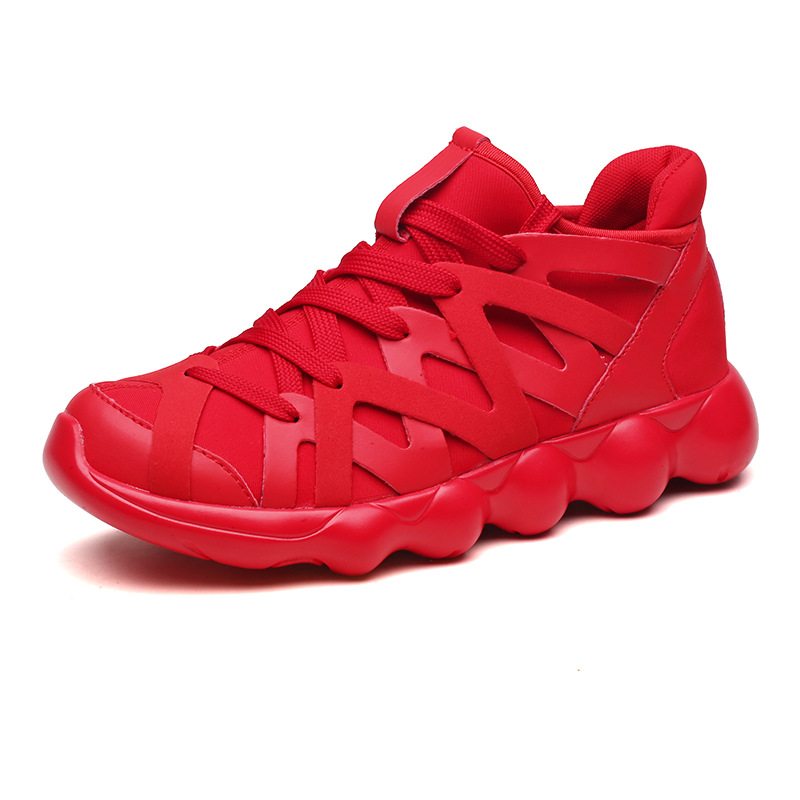 2019 Red Mens sneaker hot sale walking flat running sports shoes for adult men lace-up male sneakers comfortable Jogging Shoes2019 Red Mens sneaker hot sale walking flat running sports shoes for adult men lace-up male sneakers comfortable Jogging Shoes