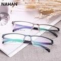 Business Type Spectacle Frame for Men Pure colour Plastic Titanium TR90 Super Light Male Grade Glasses Frame Transparent Glasses
