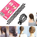 Fashion Women Lady Roller Hair Twist Styling Clip Stick Bun Maker Braid Tool Locks Weaves Hair Accessories #D236