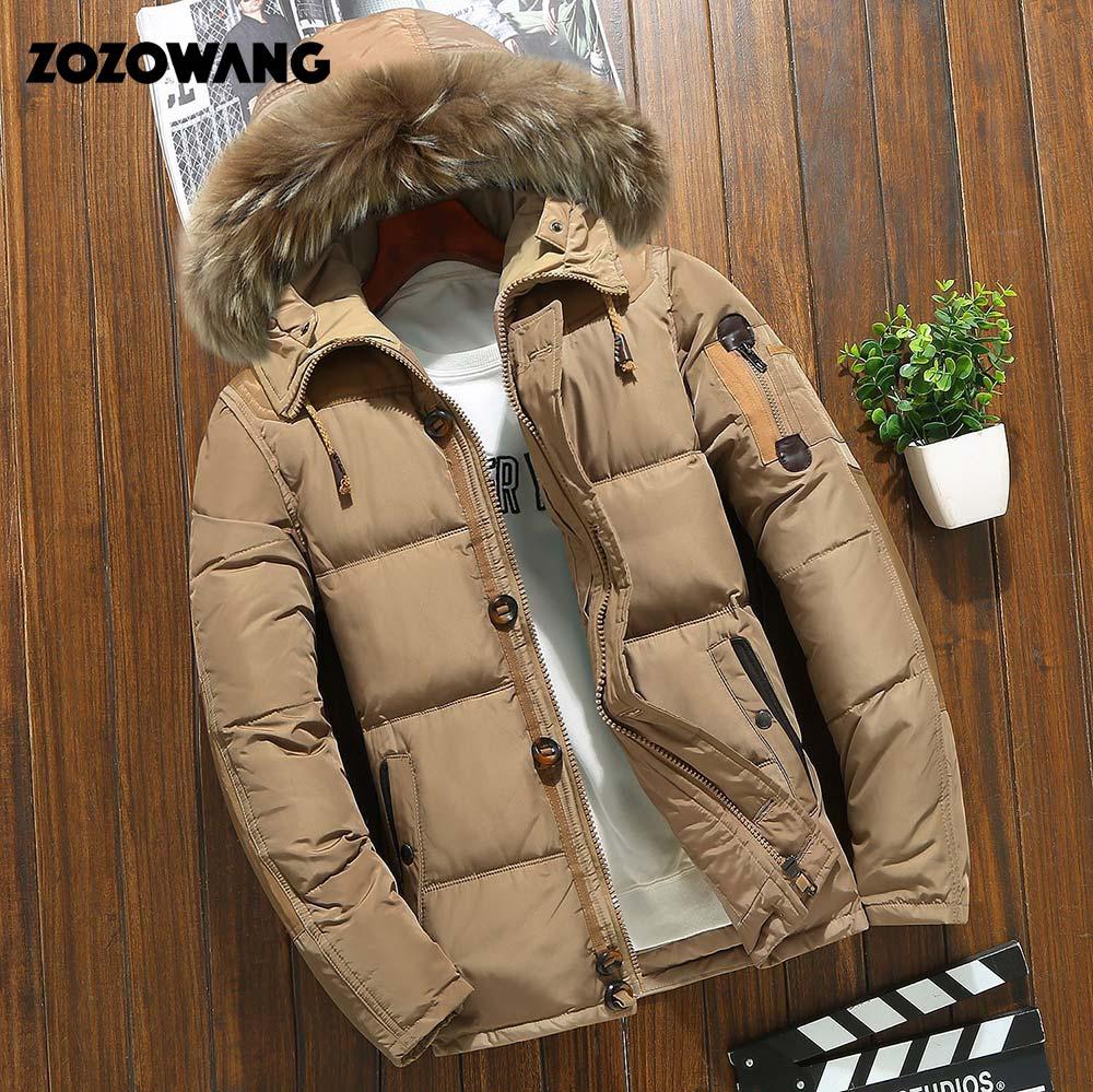 90% Down Jackets Men Winter Jacket Men Fashion Thi