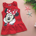 Baby Girl Dress New Summer Cartoon Character Dresses For Girls Vestido Infantil Toddler Children's Clothes Vestito Bimbe DRE010