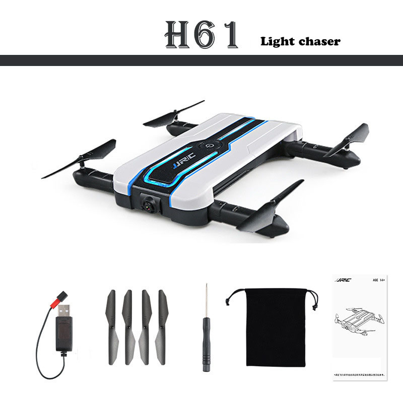 JJRC H61 Sportlight Wifi FPV 720P Camera Foldable Streamer positioning drone APP Control G-sensor RC Quadcopter helicopter H994 original jjrc h61 02 lower body shell h61 rc drone parts