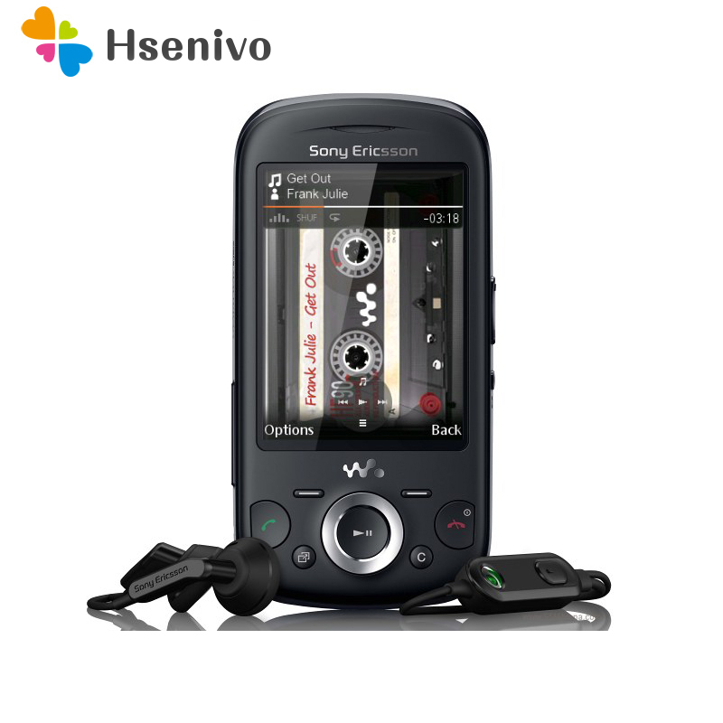 W20 Sony Ericsson Zylo W20 Bluetooth Mobile Phone 3.2MP Unlocked W20i Cell Phone Free Shipping