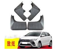 4PCS special for TOYOTA YARiS L 2019 AUTO Mudguards car fender Mud Flaps Mudflaps