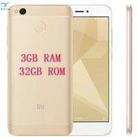brand new Xiaomi Redmi 4X PRO 3GB RAM 32G ROM Fingerprint ID Snapdragon 435 Octa Core 5.0