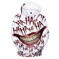 Толстовка с 3D принтом haha joker  Толстовка для мужчин и женщин в стиле хип-хоп  забавная Осенняя уличная толстовка с капюшоном  толстовка для пар...