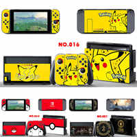 Vinyl Decal Console Cover Stickers For Nintend Switch Console Controller Skin Set Protective For NS Switch JoyCon Game Accessory