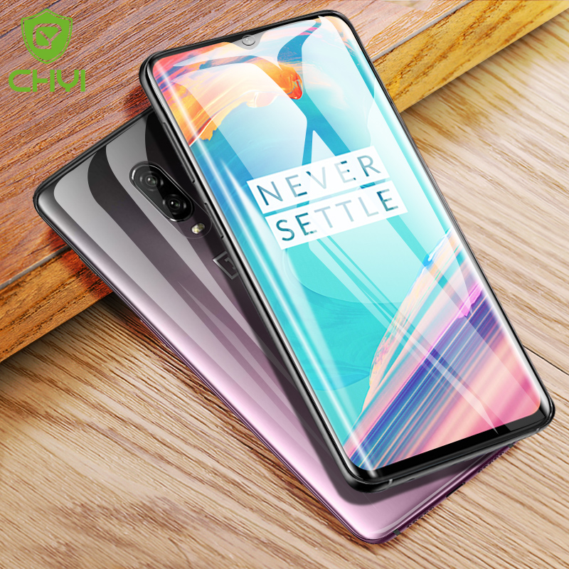 CHYI 3D Curved For Oneplus 7 pro 6T Screen Protector Nano Hydration Film Oneplus7 5t