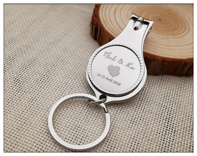 Personalised Wedding Gifts For Guests: 50Pcs/lot Personalized Wedding Souvenirs For Guests