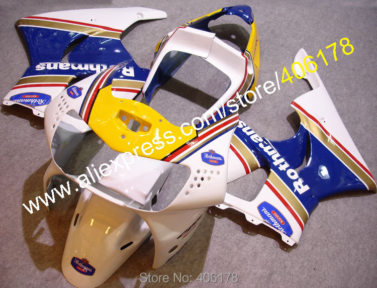 Hot Sales,Best Price Fairing kit For Honda CBR900RR 919 CBR 900 RR 919 1998-1999 CBR 900RR 89-99 Rothmans Motorcycle Fairing best price 5pin cable for outdoor printer