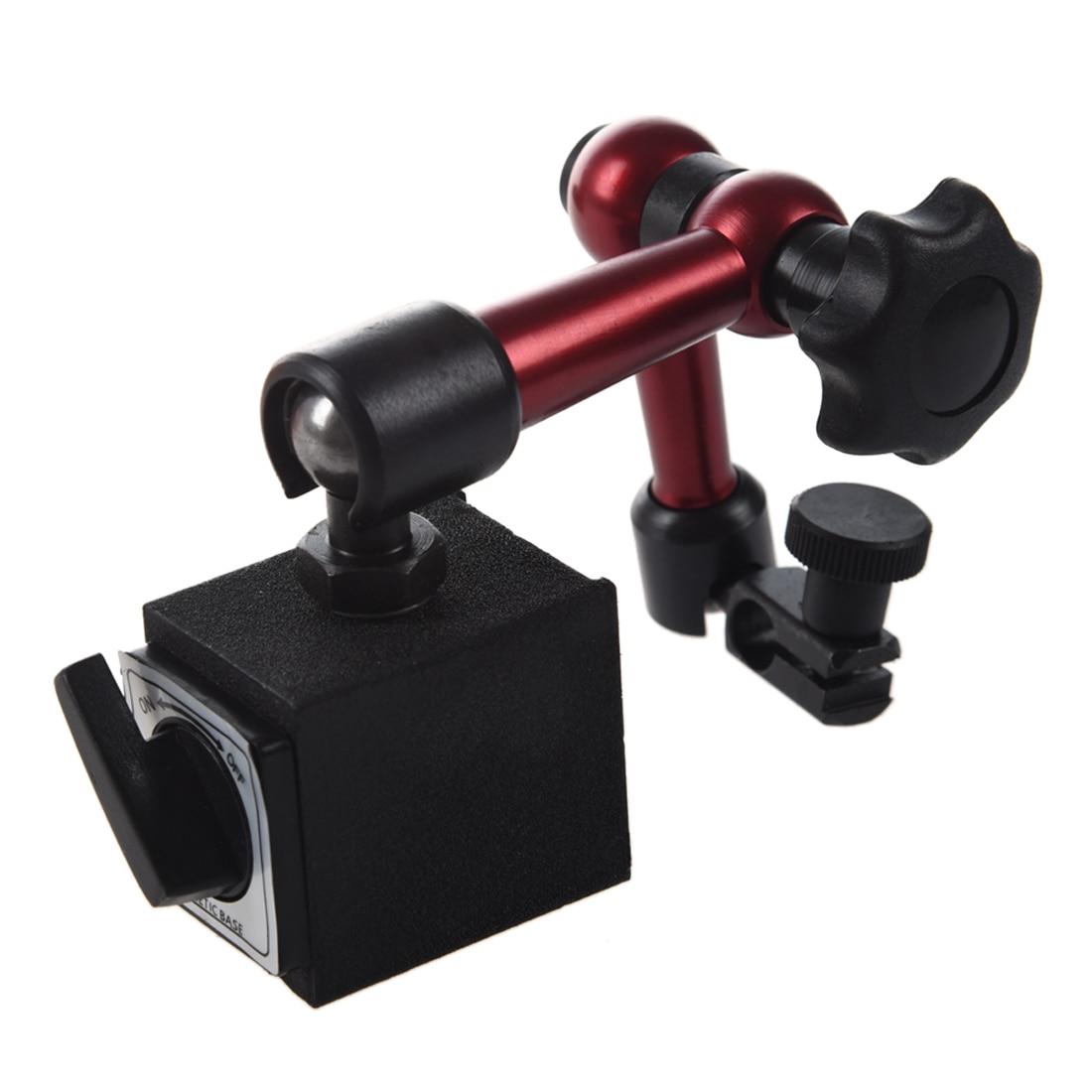 Adjustable Magnetic Gauge Stand Base Holder Digital Level Dial Test Indicator mini flexible magnetic base holder stand dial test indicator tool