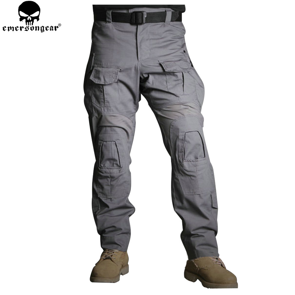 EMERSONGEAR G3 New Hunting Pants  Military Army Trousers Tactical Pants with Knee Pads Multicam WG EM9351 emersongear lbt2649b hydration carrier for 1961ar molle backpack military tactical bags hunting bag multicam tropic arid black