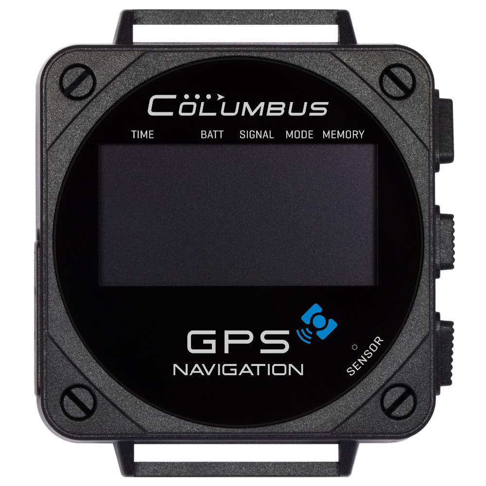 Columbus V-1000 wearable GPS Data logger 66 channels outdoor GPS sprots watch MTK3339 chipset GPS/ Pressure/ Temperature sensor