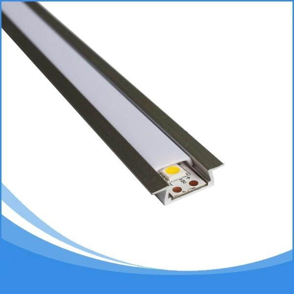20PCS 2m délka vedl hliníkový profil pro LED pásy světla led - LED Osvětlení