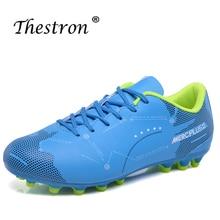 цены на Best 2019 Soccer Shoes For Couple Latest Soccer Cleats Outdoor Long Spike Mens Sport Shoes Brand Training Game Football Sneakers  в интернет-магазинах