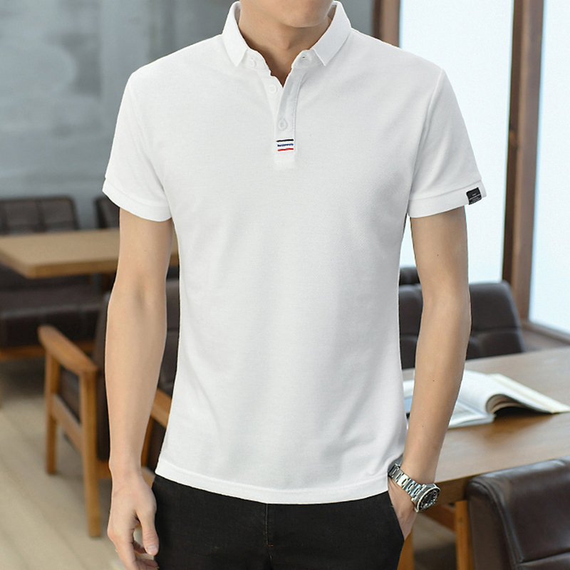 Classic Male   Polo   Shirt Solid Color Men   Polo   Shirt Summer Breathable M-3XL   Polo   Shirts Man Short Sleeve