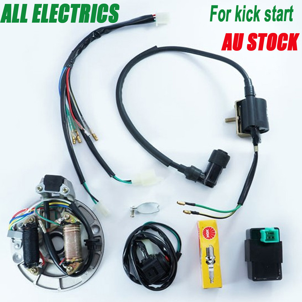 Magnificent Lifan 125 Wiring Harness Small Ibanez Pickups Flat Dimarzio Pickup Wiring Color Code Remote Start Wiring Young 5 Way Pickup Switch GreenDiagram Of Solar System Moto Engines 50 125cc Kick Start Dirt Pit Bike Wire Harness Wiring ..
