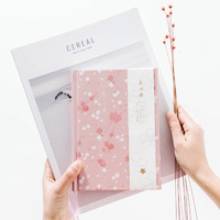 Nhật bản Sakura Dễ Thương Máy Tính Xách Tay Hàng Tháng Kế Hoạch Máy Tính Xách Tay Với Dòng Trống Dot Lưới Trang Bullet Journal Diary Book Defter A5 HJW001