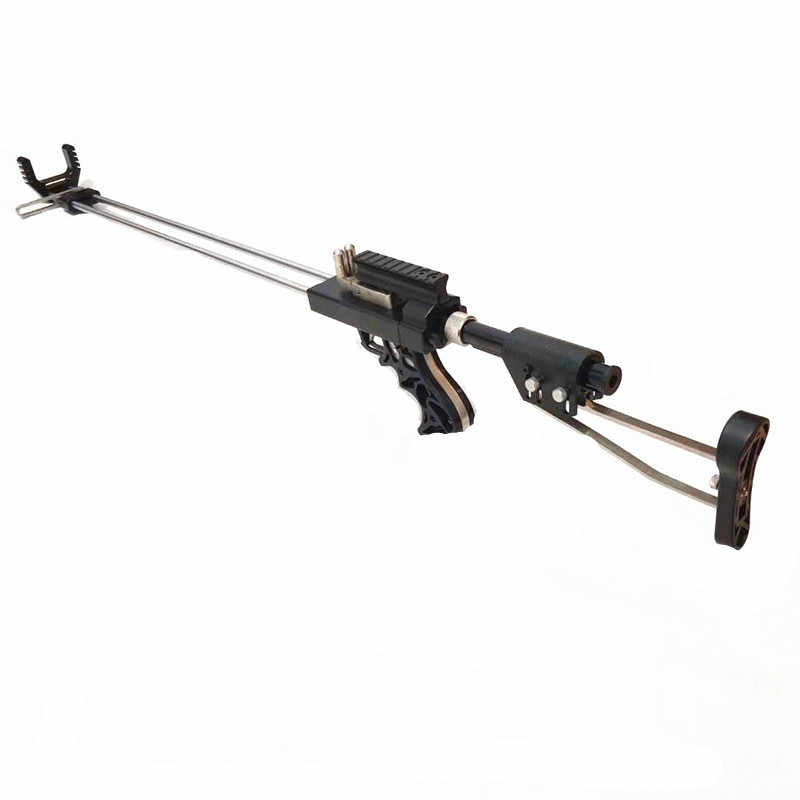 Lengyue4 Rifle Slingshot Hunting Catapult Powerful Stainless Slingshot For Outdoor Hunting And Shooting Double Safety Device CNC