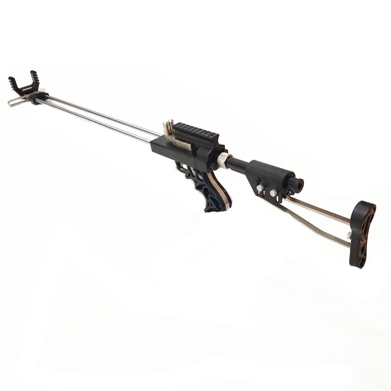 All-new Lengyue4 Stainless Steel Rifle Slingshot With Rear Support Device Slingshot Catapult For Outdoor Hunting And Shooting