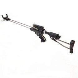 Buona Qualità di Caccia Fionda Fucile Doppio Dispositivo di Sicurezza di Supporto In Acciaio Inox Slingshot Tiro All'aperto