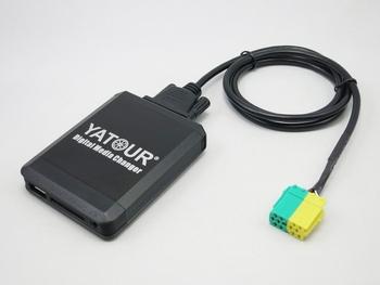 Yatour cyfrowa muzyka samochodowa zmieniarka cd Autoradio USB SD AUX MP3 adapter bluetooth dla Toyota Aygo Peugeot 107 Citroen C1 interfejs tanie i dobre opinie Odtwarzacze mp3 Black 800*480 english 12 v 1 din aluminum alloy 2 5 400g 20HZ-20KHZ 92x65x16 5 YTM06-TOY3 SD USB AUX IN BT
